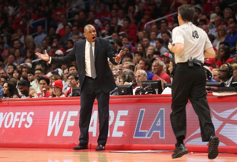 Doc Rivers judges the player