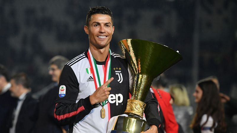Cristiano Ronaldo has won two Serie A titles in as many seasons with Juventus