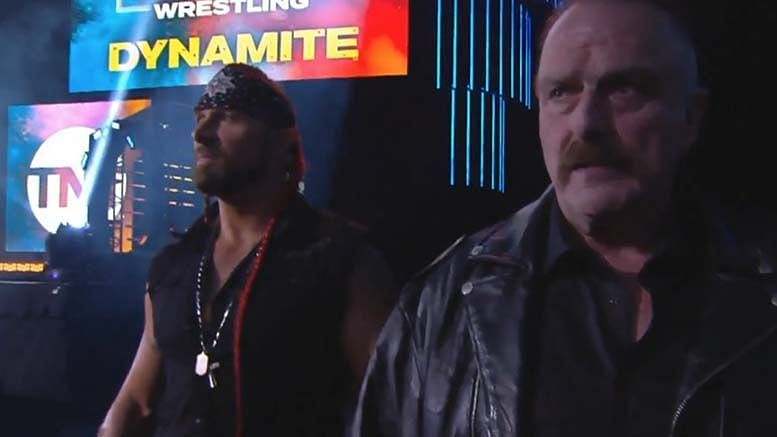 Lance Archer and Jake Roberts
