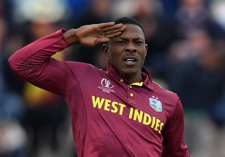 How many opportunities will Cottrell have to salute during IPL 2020?
