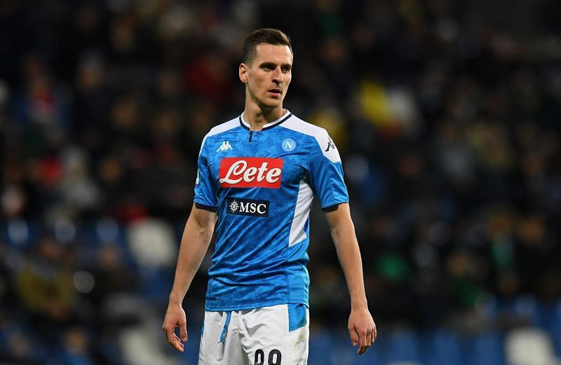 Arkadiusz Milik has struggled for consistent game-time at SSC Napoli.