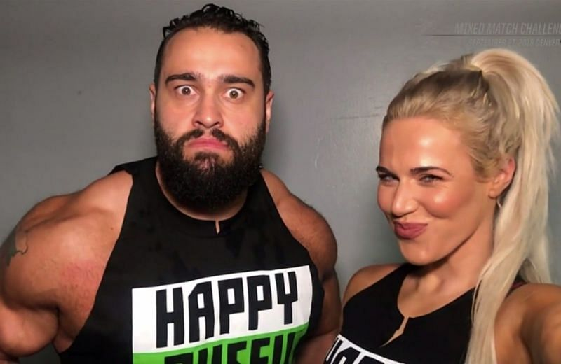 Lana & Rusev | Wwe couples, Cj perry, Smoothie king center