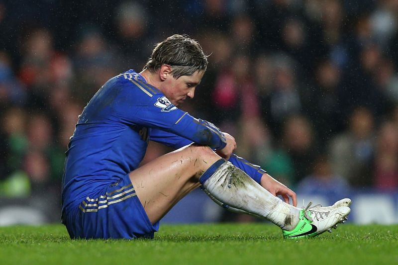 Fernando Torres was never the same after his move to Chelsea