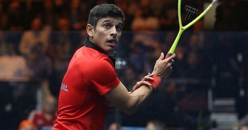 Saurav Ghosal had won the second singles to clinch India the gold medal in the men