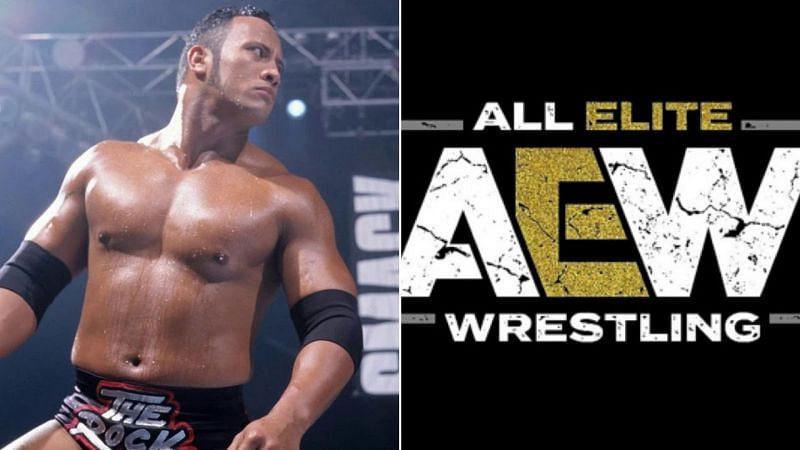 What did The Rock think about his feud with this current AEW star?