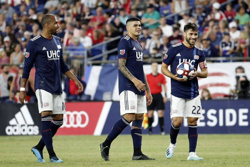 New England Revolution welcome New York City FC to the Gillette Stadium for the second time this month.