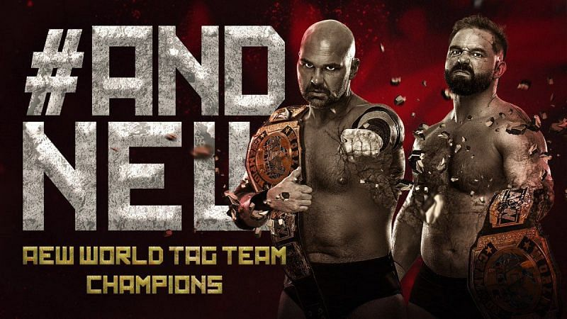New AEW World Tag Team Champions have been crowned at AEW All Out