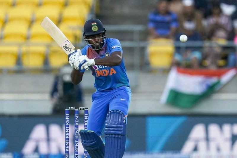 Sanju Samson scored 10 runs in the two T20Is against New Zealand earlier this year (Image Credits: Outlook India)