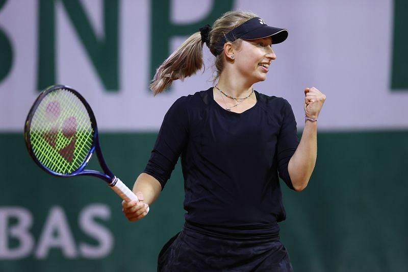 Daria Gavrilova during her win over Dayana Yastremska.