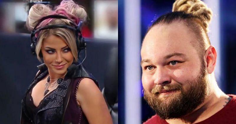 Alexa Bliss and Bray Wyatt.