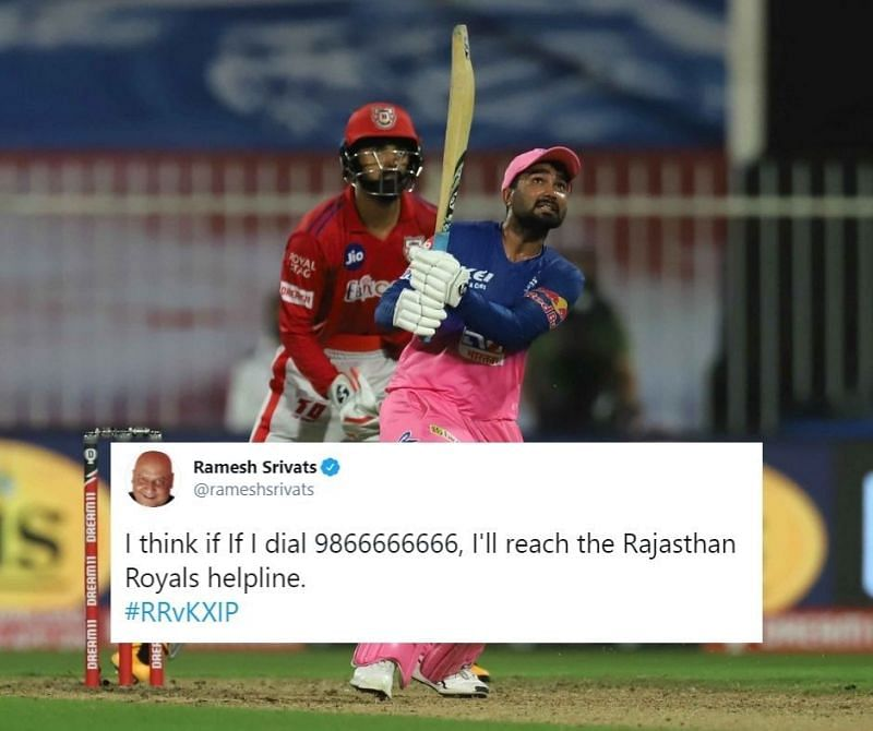 RR pulled off the highest run-chase in tournament history against KXIP in Match 9 of IPL 2020