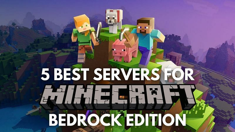 5 best servers for Minecraft Bedrock Edition