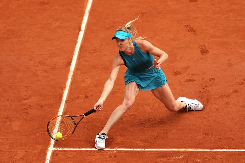 Fourth seed Elina Svitolina returns to action in Rome.