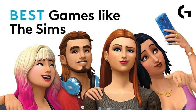 Best games like The Sims. Image Credits: Logitech G (YouTube).