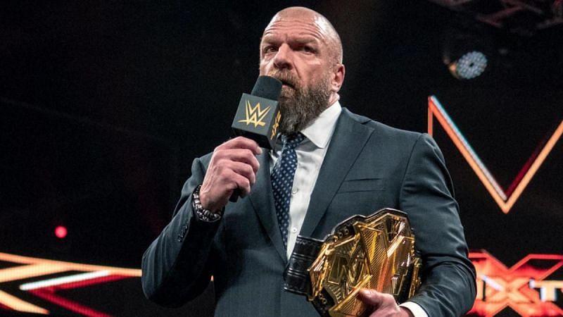 Triple H in WWE NXT