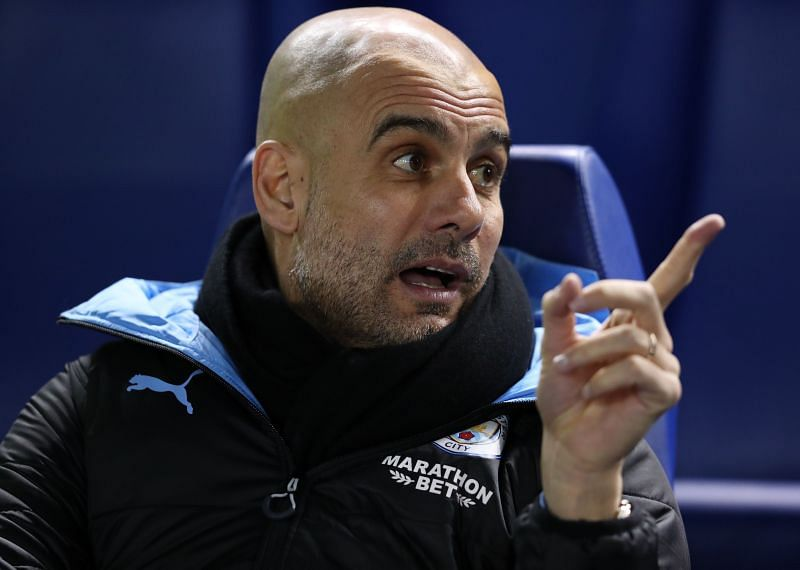 Manchester City manager Pep Guardiola is looking to sign a central defender before the new season starts