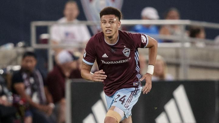 Kortne Ford cannot play a part in this game. Image Source: Colorado Rapids