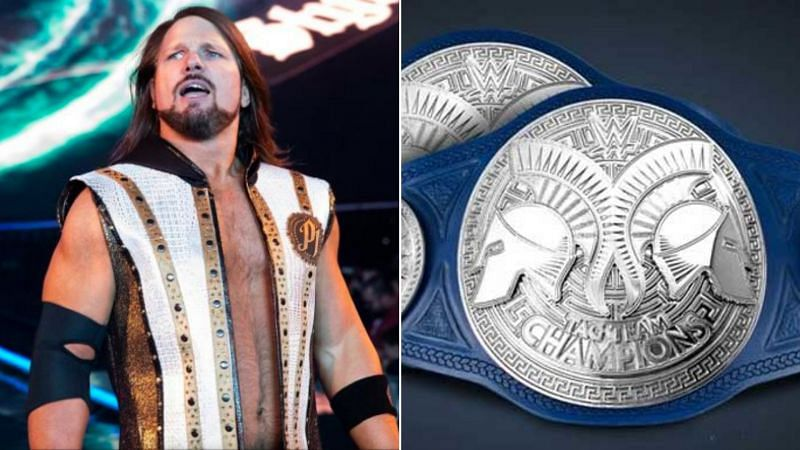 AJ Styles wants to win the tag-team championships before he retires