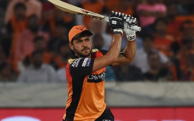 Gavaskar is of the opinion that a good IPL 2020 season could cement Manish Pandey