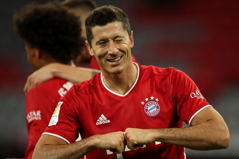 Lewandowski opened his account for the season from the penalty spot.