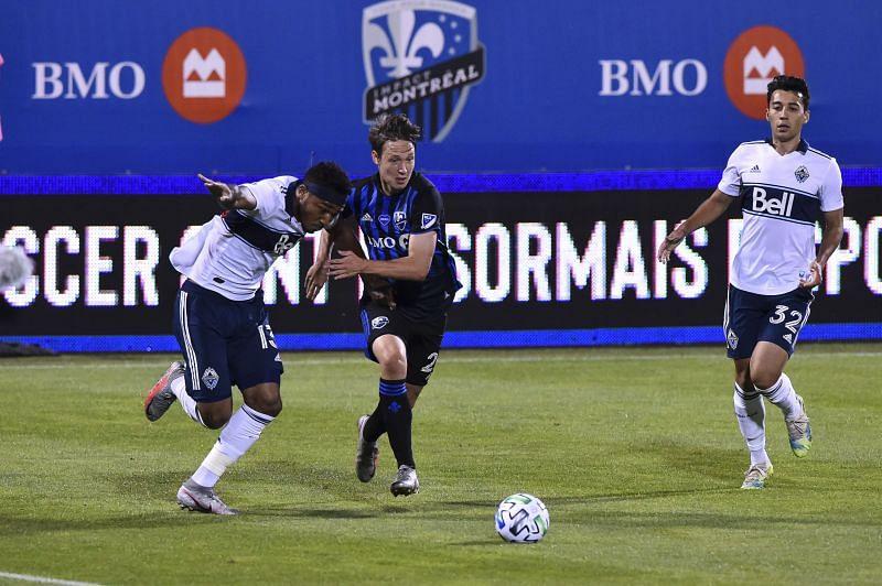 The Vancouver Whitecaps take on Montreal Impact on Sunday