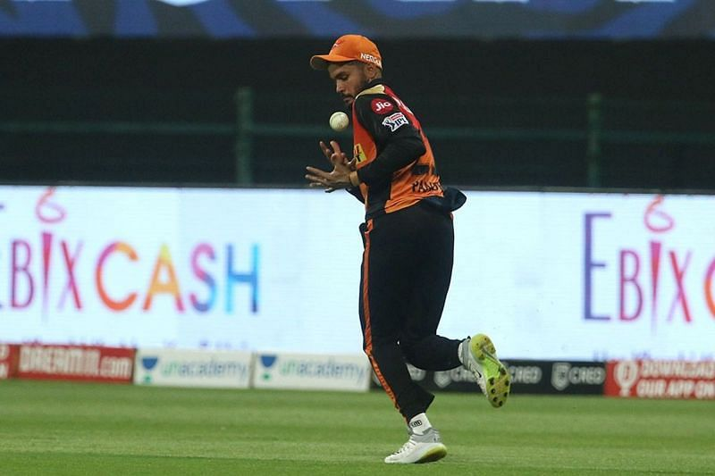 Manish Pandey did take an important catch, but threw it away with the bat.