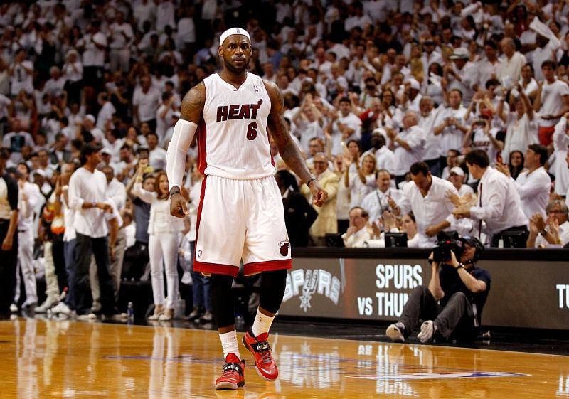 LeBron James was part of the infamous Welcome Party when he joined the Miami Heat