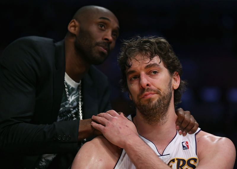 Pau Gasol was one of Kobe Bryant