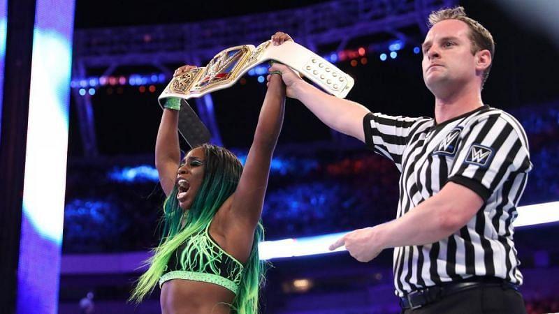 Naomi won the SmackDown Women