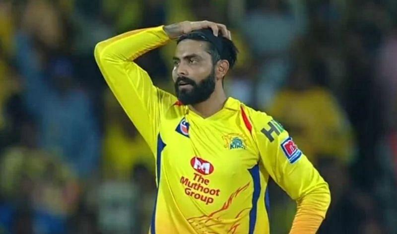 Ravindra has had a nightmarish start to IPL 2020 (Image Credits: Hotstar)