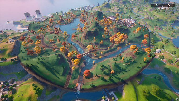 A new point of interest has been added in Fortnite v14.10 update (Image credit: HYPEX/Twitter)