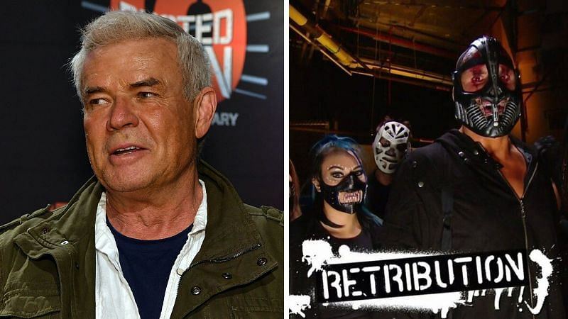 Eric Bischoff has shared his opinion on the current RETRIBUTION faction in WWE
