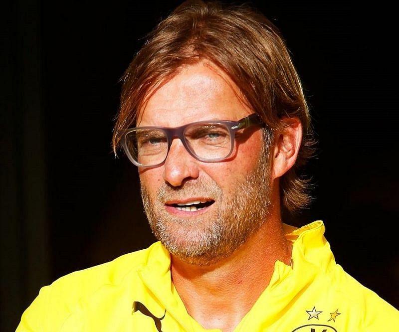 Jurgen Klopp at Borussia Dortmund.