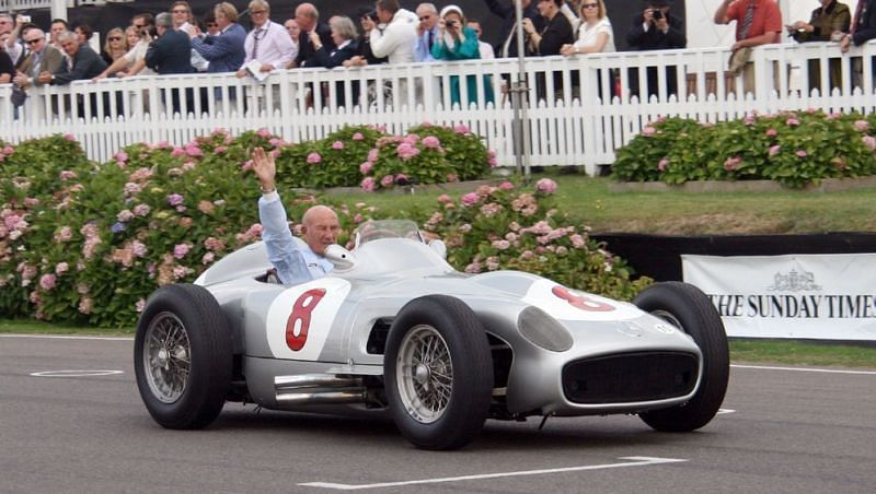 Sir Stirling Moss — gifted driver and British sporting icon