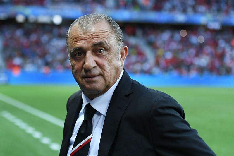 Galatasaray manager Fatih Terim
