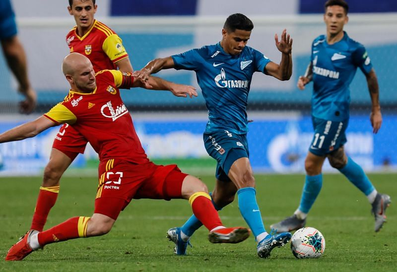 Zenit Saint Petersburg have been in excellent form