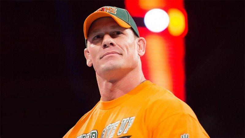 WWE सुपरस्टार और 16 बार के पूर्व चैंपियन जॉन सीना