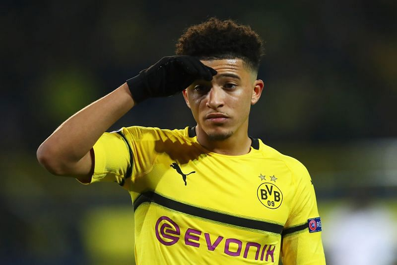 Borussia Dortmund winger Jadon Sancho is Manchester United