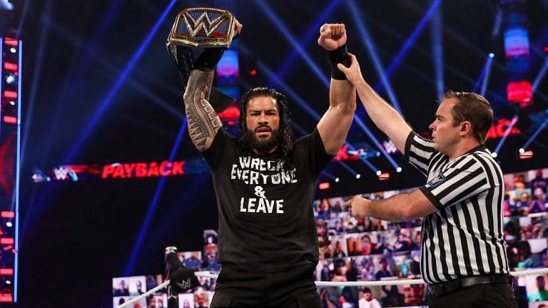 Roman Reigns captured the Universal Championship at Payback.