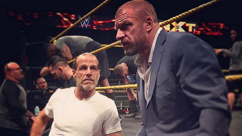 Shawn Michawls and Triple H