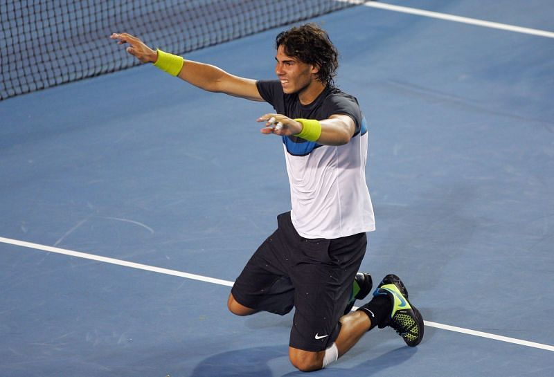Rafael Nadal needed 5 hours and 14 minutes to beat Fernando Verdasco at 2009 AO