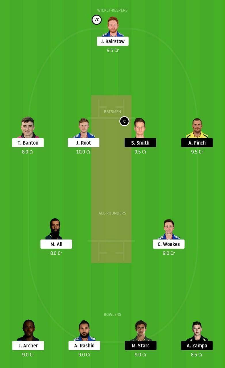 ENG vs AUS 1st ODI Dream11 Tips