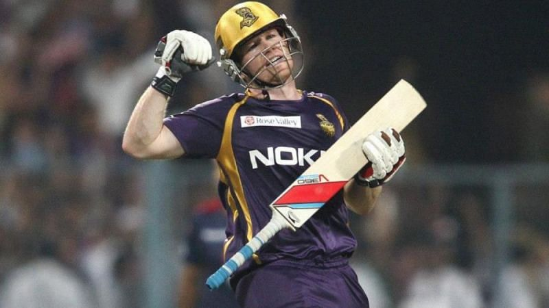 Eoin Morgan was earlier associated with KKR from 2011 to 2013 (Image Credits: Cricket Addictor)