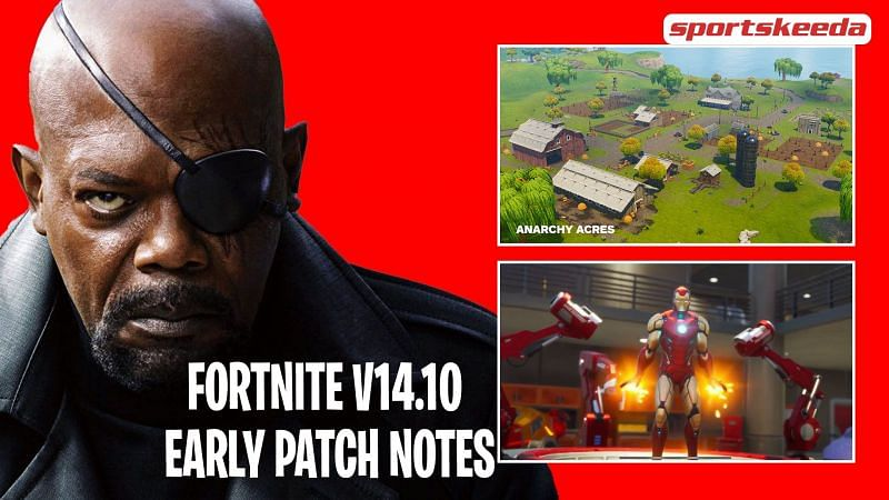 A look at the Fortnite v14.10 early patch notes