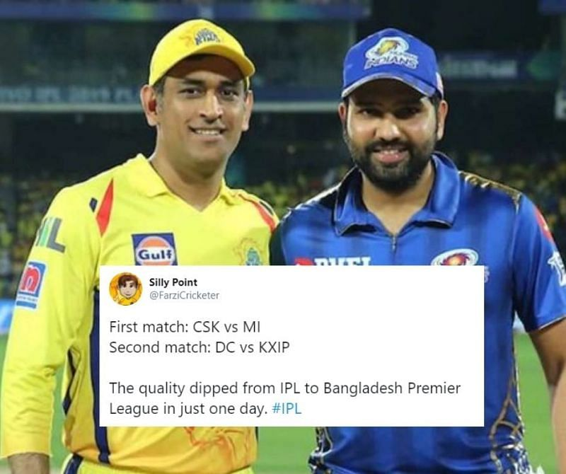 CSK and MI will lock horns in the first IPL 2020 game on the 19th of September