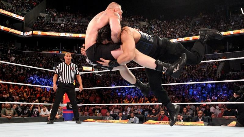 Roman Reigns stood tall at the end of SummerSlam