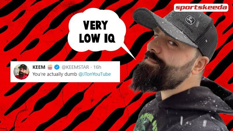 Keemstar received a copyright strike- and instantly threatened to sue in return.