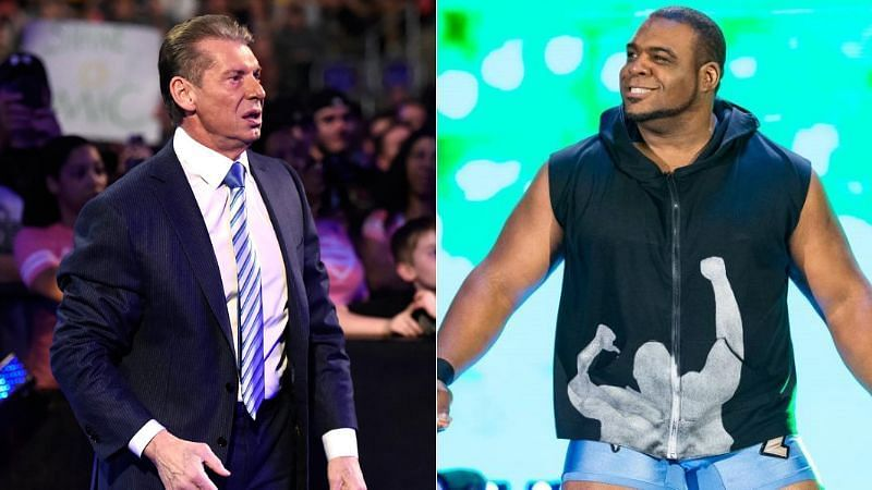 Vince McMahon altered Keith Lee
