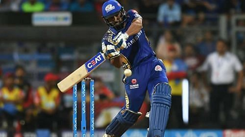 Rohit Sharma could not do much with the bat in the IPL opener