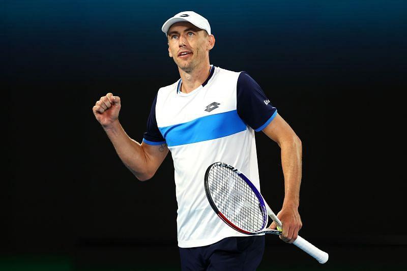 John Millman at the 2020 Australian Open